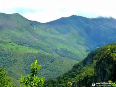 Ruta Cares-Picos de Europa; atienza castillo cañon del rio mesa los almorchones queralbs a nuria